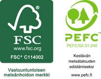 FSC, PEFC Skandinaviska Träimport