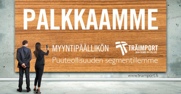 Palkkamme - Skandinaviska Träimport
