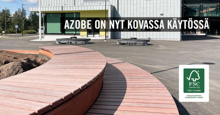 Azobe Keljonkangas Skandinaviska Träimport